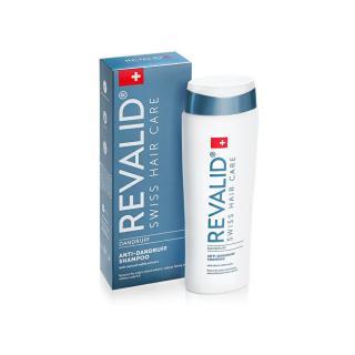 Revalid Šampon proti lupům pro řídnoucí a mastné vlasy Anti-Dandruff Shampoo 250 ml