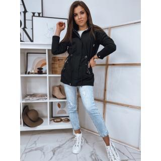 Reversible womens parka jacket MONNIS black TY1749 dámské Neurčeno L