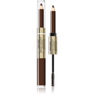 Revlon Cosmetics Brow Fantasy tužka a gel na obočí 2 v 1 odstín 106 Dark Brown 1,18 ml dámské 1,18 ml
