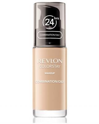Revlon Make-up pro smíšenou až mastnou pleť s pumpičkou Colorstay  30 ml 330 Natural Tan dámské