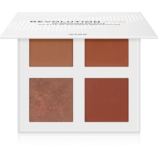 Revolution PRO 4K Bronzer Palette bronzující paletka odstín Warm 4 x 4 g dámské 4 x 4 g