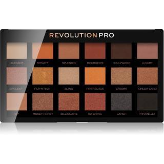 Revolution PRO Regeneration paleta očních stínů odstín Goldmine 14,4 g dámské 14,4 g