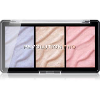 Revolution PRO Supreme paleta rozjasňovačů odstín Ice 3,7 g dámské 3,7 g