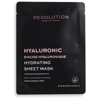 REVOLUTION SKINCARE Biodegradable Hydrating Hyaluronic Acid Sheet Mask 5 ks