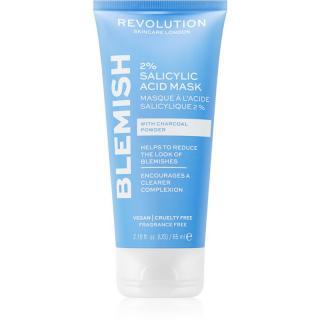 Revolution Skincare Blemish 2% Salicylic Acid čisticí maska s 2% kyselinou salicylovou 65 ml dámské 65 ml