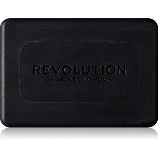 Revolution Skincare Charcoal čisticí tuhé mýdlo pro problematickou pleť 100 ml dámské 100 ml