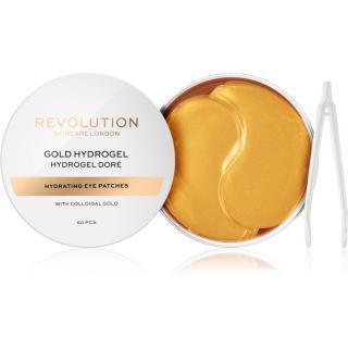 Revolution Skincare Gold Hydrogel hydrogelová maska na oční okolí se zlatem 60 ks dámské 60 ks
