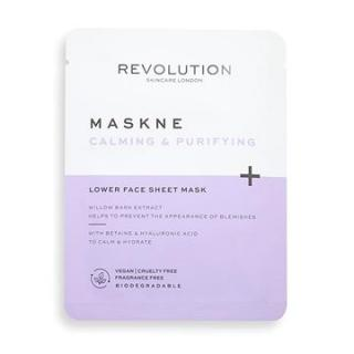 REVOLUTION SKINCARE Maskcare Maskne Calming & Purifying Lower Face Sheet Mask 2 ks