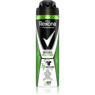 Rexona Invisible Fresh Power antiperspirant ve spreji pro muže 150 ml pánské 150 ml
