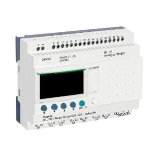 Řídicí reléový PLC modul Zelio Logic - 26 I/O - 24VDC Schneider SR3B261BD