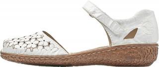 Rieker Dámské kožené sandály M0965-80 38 dámské