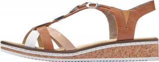 Rieker Dámské sandály V3657-81 38 dámské