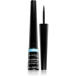 Rimmel Exaggerate Waterproof oční linky odstín 003 Glossy Black 2,5 ml dámské 2,5 ml