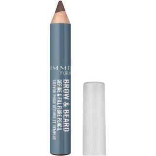 Rimmel For Men Brow & Beard tužka na obočí pro muže odstín 003 Dark 1,7 g pánské 1,7 g