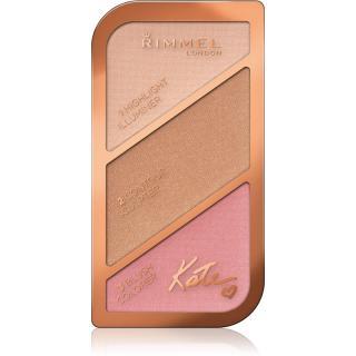Rimmel Kate konturovací paletka odstín 001 Golden Sands 18,5 g dámské 18,5 g