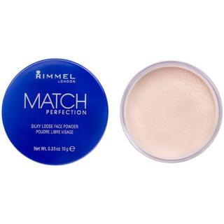 Rimmel Match Perfection transparentní fixační pudr 10 g dámské 10 g