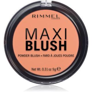 Rimmel Maxi Blush pudrová tvářenka odstín 004 Sweet Cheeks 9 g dámské 9 g