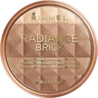 Rimmel Radiance Brick bronzující rozjasňující pudr odstín 001 Light 12 g dámské 12 g