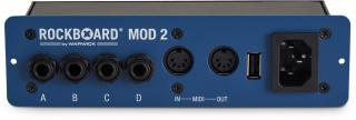 RockBoard MOD 2 All-in-one Patchbay Blue