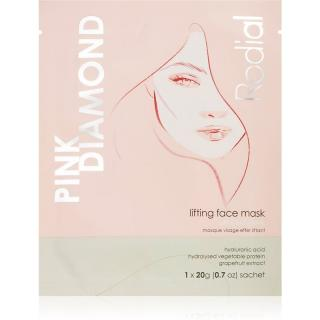 Rodial Pink Diamond Lifting Face Mask liftingová plátýnková maska 20 g dámské 20 g
