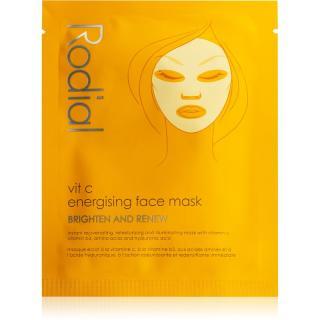 Rodial Vit C plátýnková maska pro rozjasnění a vitalitu pleti s vitaminem C 20 ml dámské 20 ml