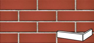 Roh fasádní Klinker červená hladká 6,5x25x12 cm RPASEKPRCE červená červená hladká