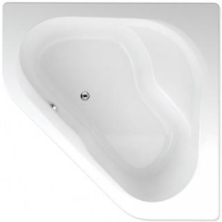 Rohová vana Teiko Capri 135x135 cm akrylát V111135N04T03001 bílá bílá