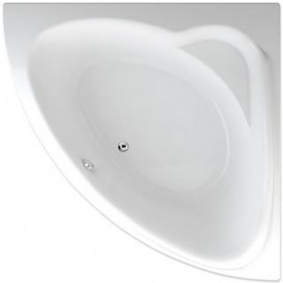 Rohová vana Teiko Sumatra 150x150 cm akrylát V111150N04T01001 bílá bílá