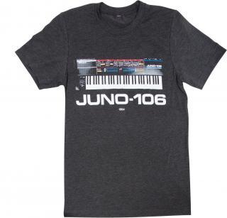 Roland JUNO-106 Crew T-shirt S Grey S