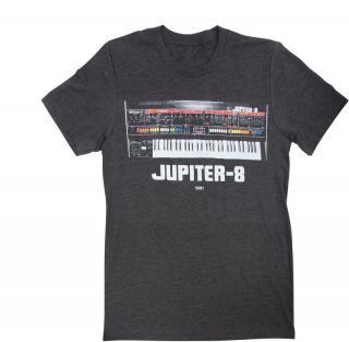 Roland JUPITER-8 Hudební tričko Grey M