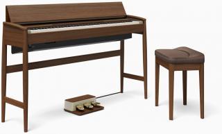 Roland KF-10 Dark Walnut Digitální piano Brown