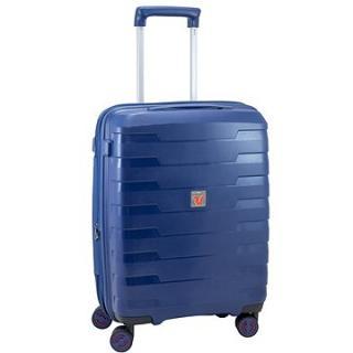 Roncato cestovní kufr SPIRIT, 55 cm, EXP.,4 kolečka, modrá