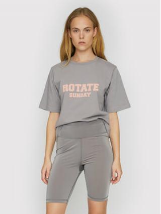 ROTATE T-Shirt Aster RT456 Šedá Loose Fit dámské XS