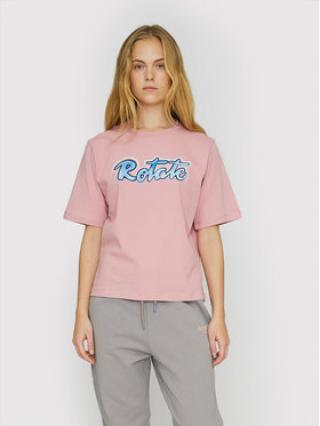 ROTATE T-Shirt Asvera RT460 Růžová Loose Fit dámské XS