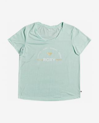 Roxy Chasing The Swell Triko Zelená dámské M