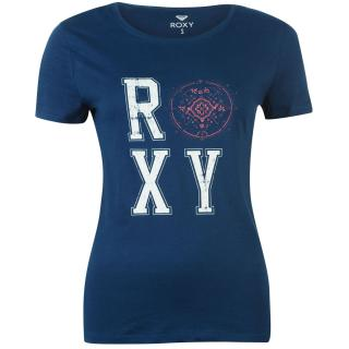 Roxy College Short Sleeved T Shirt Ladies dámské Other XS
