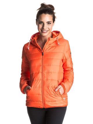 Roxy FOREVERFREELY PPM0 podzimní bunda pro ženy dámské korálová S