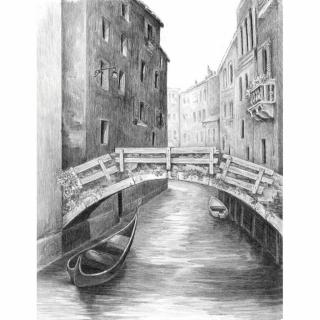 Royal & Langnickel Kreslení podle předlohy A4 Most v Benátkách