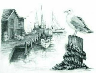Royal & Langnickel Kreslení podle předlohy A4 Rybolov