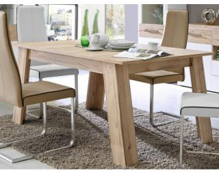 Rozkládací jídelní stůl Cartago 160x100 cm