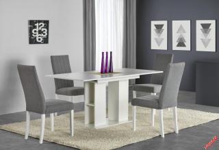 Rozkládací jídelní stůl Cornelio, bílý