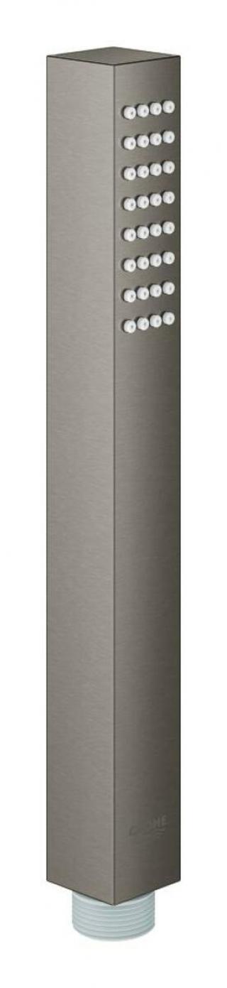 Ruční sprcha Grohe EUPHORIA-CUBE kartáčovaný Hard Graphite 27888AL0 černá kartáčovaný Hard Graphite