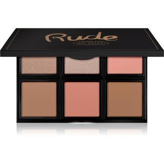 Rude Cosmetics Face Palette Fearless paletka na tvář 18 g dámské 18 g