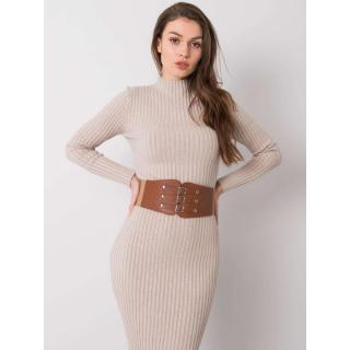 RUE PARIS Women´s brown corset belt dámské Neurčeno One size