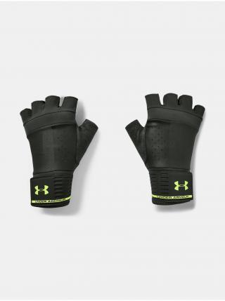 Rukavice Under Armour UA Mens Weightlifting Glove - zelená pánské černá S