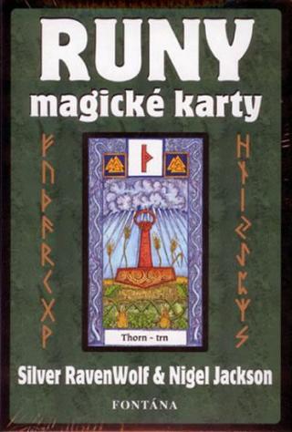 Runy - magické karty - Raven Wolf S., Jackson N.