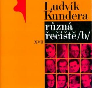 Různá řečiště /b/ - Kundera Ludvík