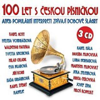Různí interpreti – 100 let s českou písničkou aneb Populární interpreti zpívají dobové šlágry CD