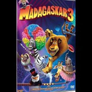 Různí interpreti – Madagaskar 3 DVD