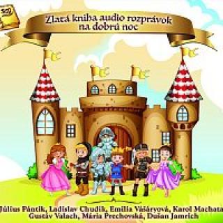 Různí interpreti – Zlatá kniha audio rozprávok na dobrú noc CD
